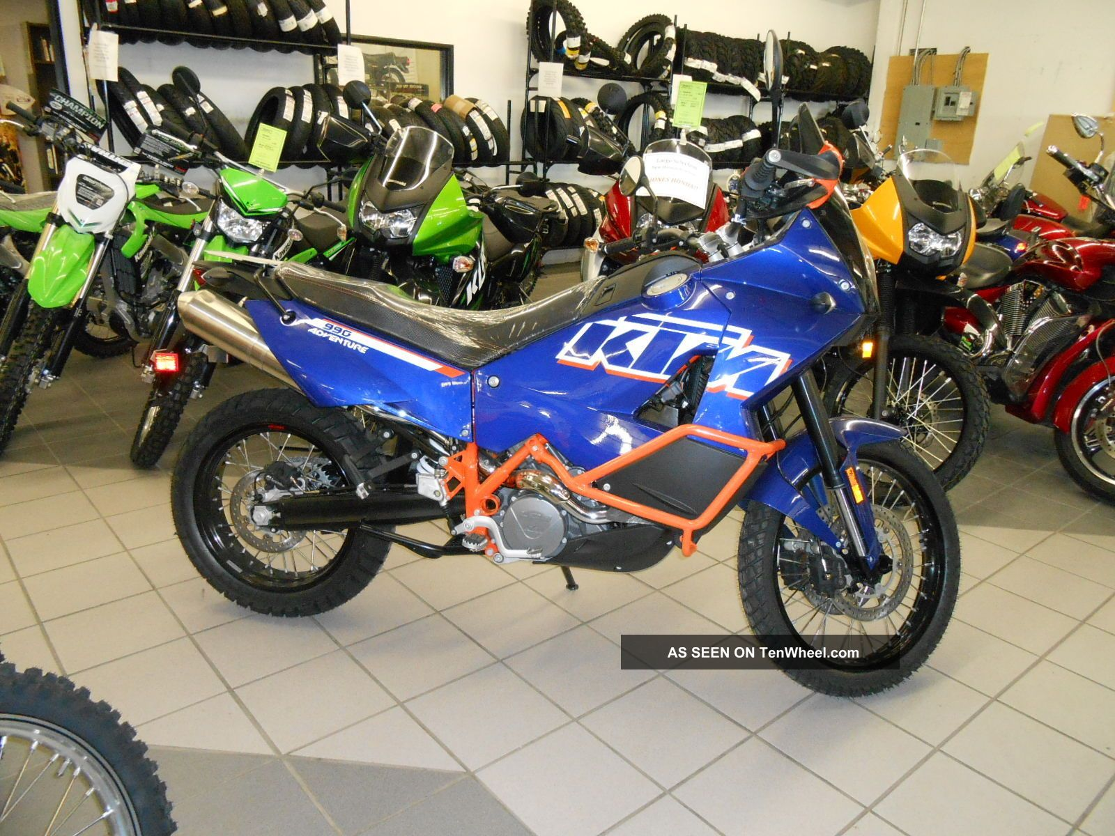 2012 Ktm Adventure 990 With Abs Never Serviced Adventure photo