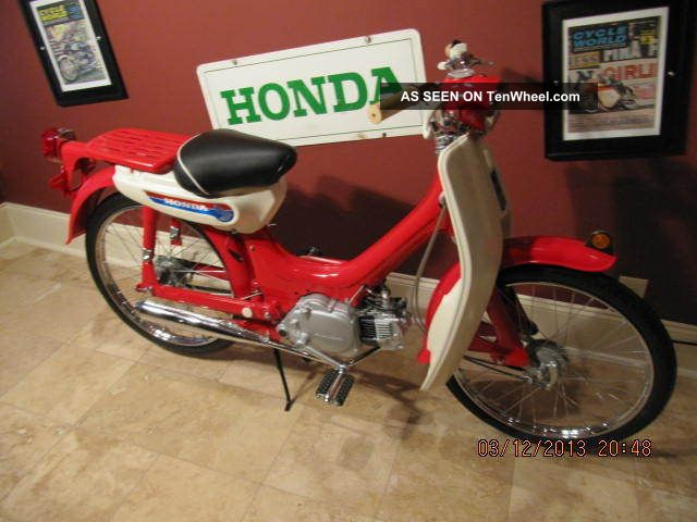 Honda 1970 Pc50 Museum Quality Build Other photo