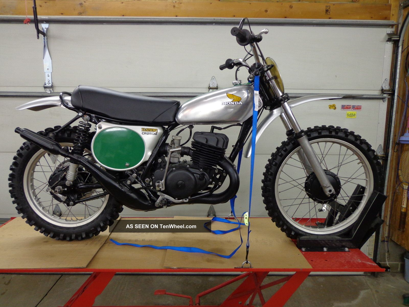 1973 1974 Honda Cr250 Elsinore Cr 250 Ahrma Vintage Motocross CR photo