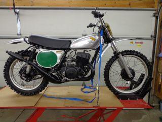 1973 1974 Honda Cr250 Elsinore Cr 250 Ahrma Vintage Motocross photo