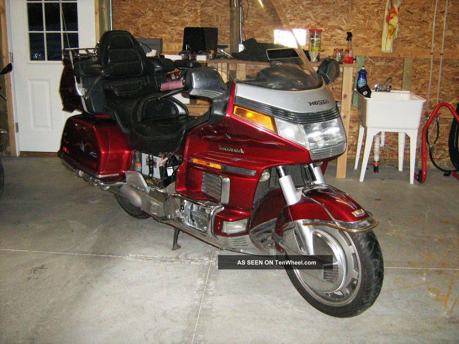 1992 Honda Gl1500i Gl1500 Goldwing Gold Wing Gl 1500 Gold Wing photo