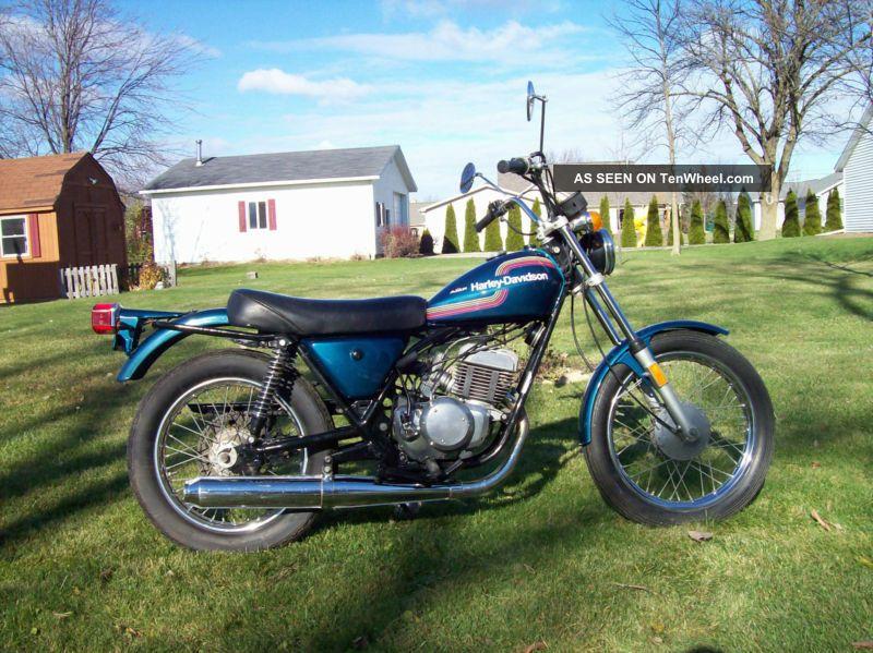 1975 Amf Harley Davidson Ss 250.  Non Great Bike Other photo