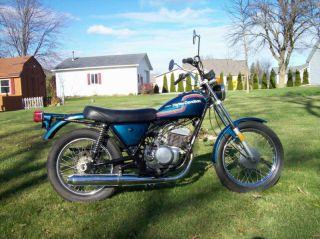 1975 Amf Harley Davidson Ss 250.  Non Great Bike photo