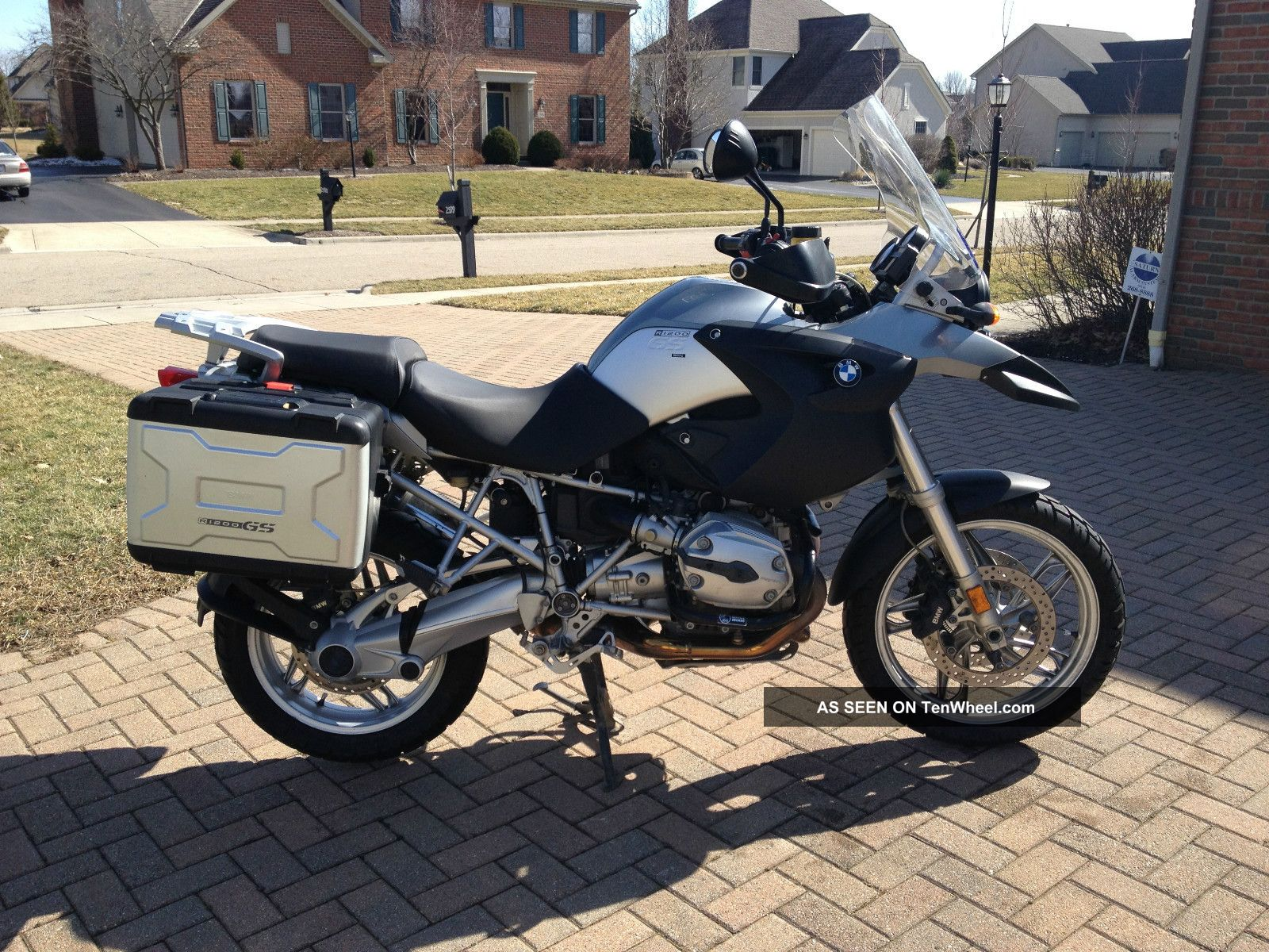 Bmw R1200gs Motorcycle 2006 Grey - - R-Series photo