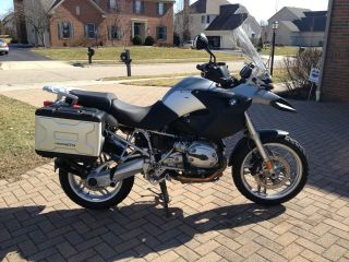 Bmw R1200gs Motorcycle 2006 Grey - - photo