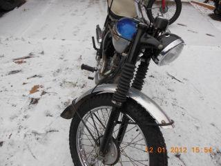 1964 Triumph 200cc Mt.  Cub photo
