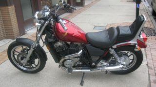 1985 Honda Shadow Vt700c Cruiser Motorcycle photo