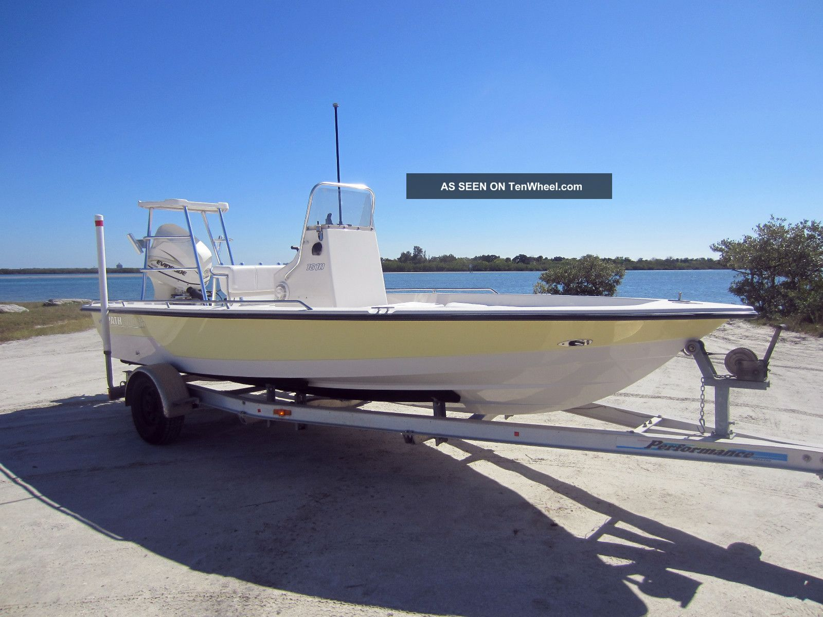 2000 Pathfinder 1810 Inshore Saltwater Fishing photo