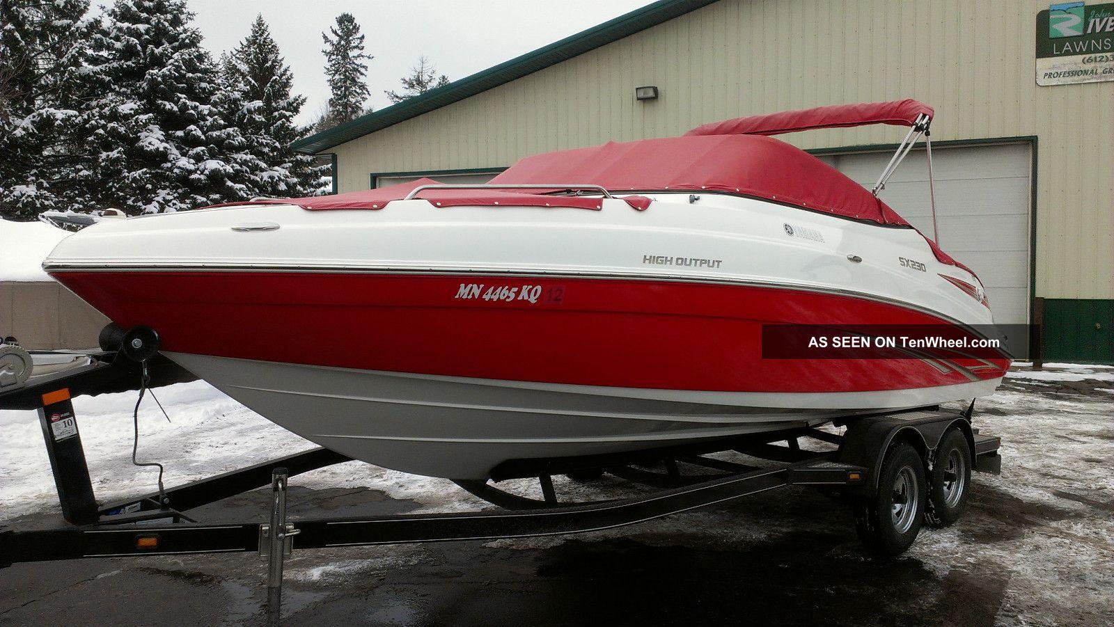 2009 Yamaha Sx230 High Output Jet Boats photo