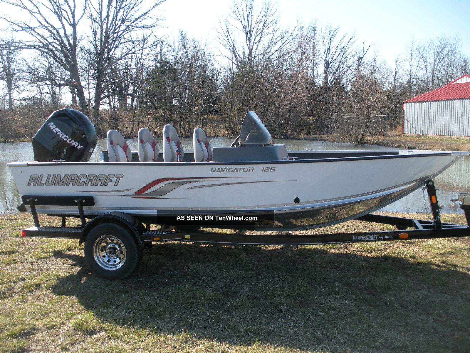 2011 Alumacraft Navigator 165 Cs Other Freshwater Fishing photo
