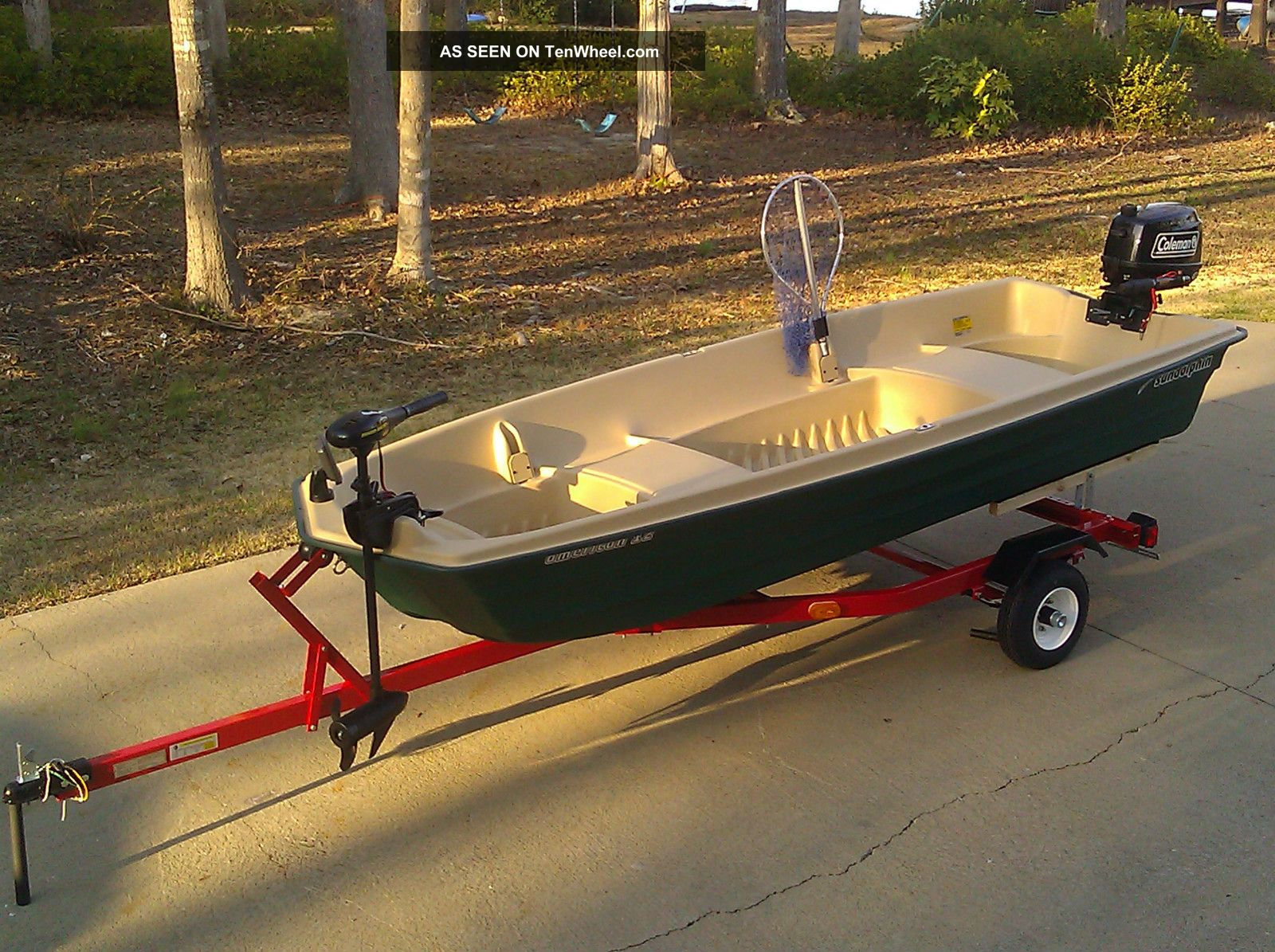 2013 jon boat fishing package