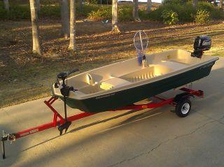 2013 Jon Boat Fishing Package photo