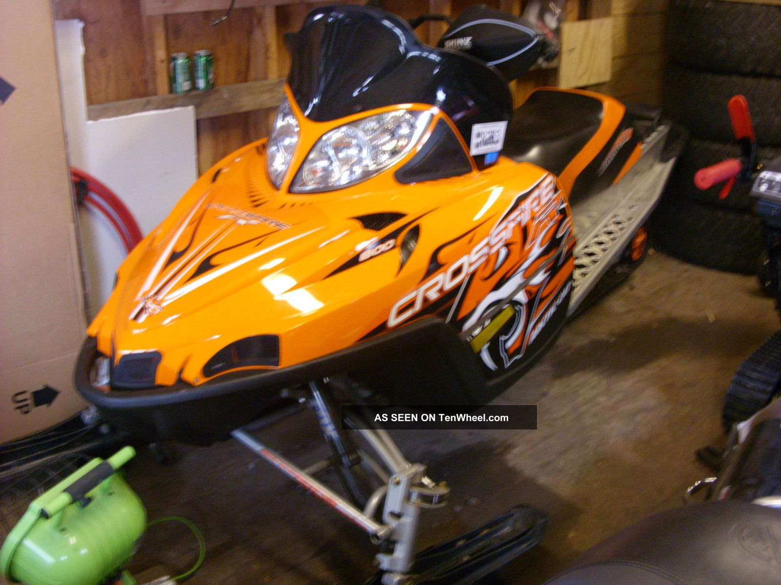 Can Am Ds 450 >> 2008 Arctic Cat Crossfire