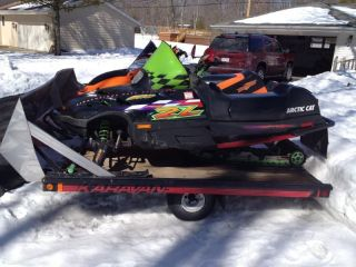 1998 Arctic Cat Zl 500 photo