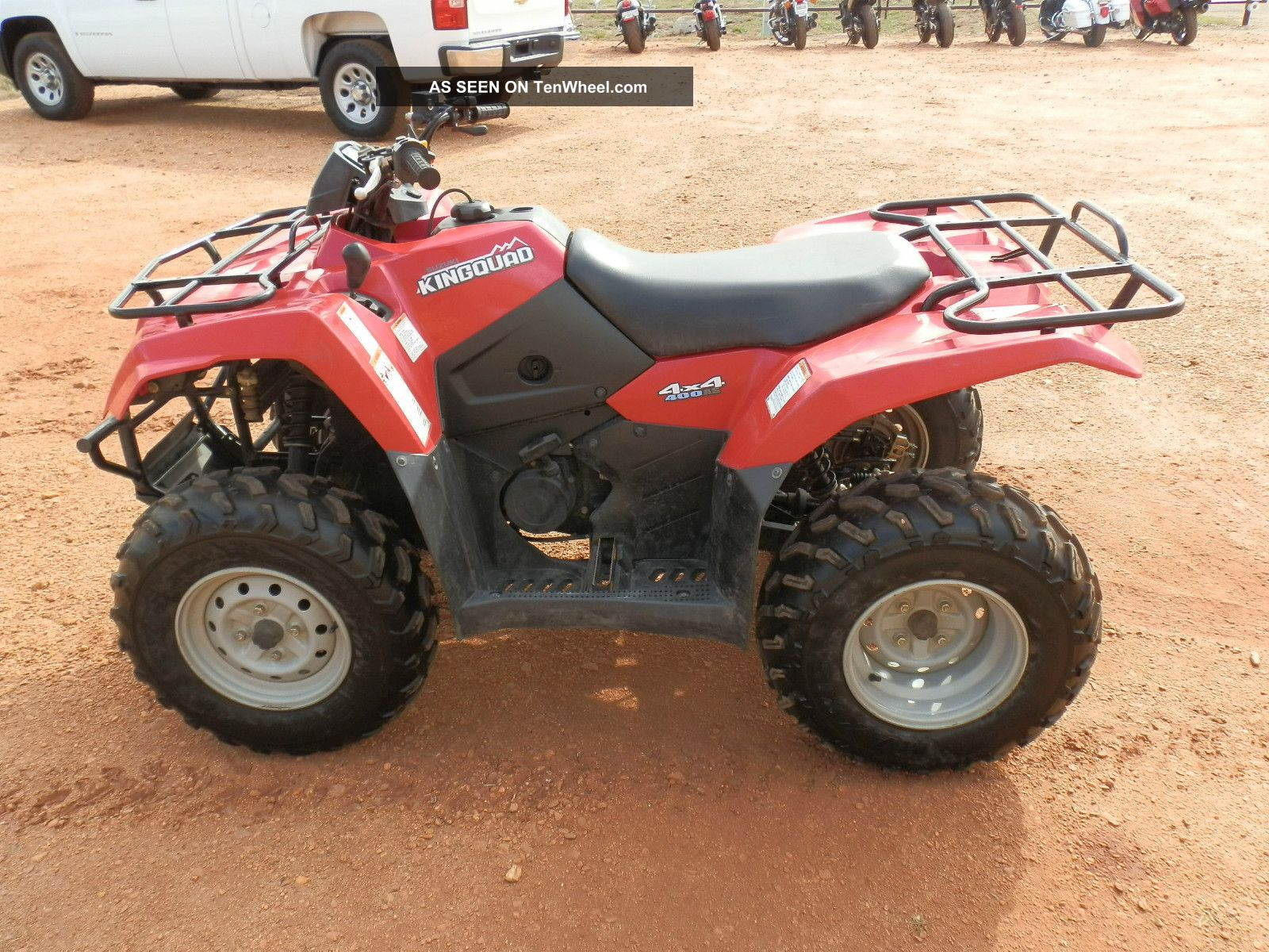 Suzuki King Quad  Engine