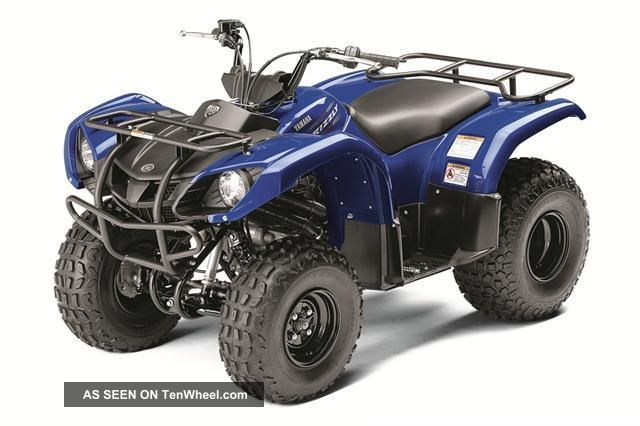 2012 yamaha grizzly 125 automatic 4 stroke electric start for Yamaha mini four wheelers