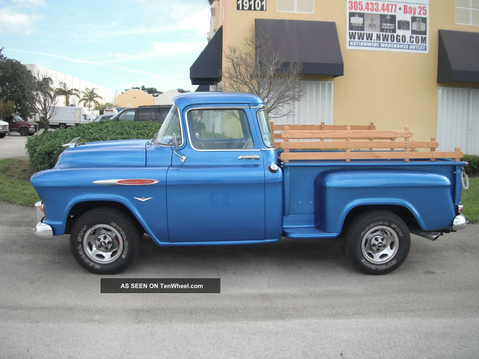 1958 Chevy 3100 Custom Truck