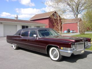 1970 Cadillac Fleetwood photo