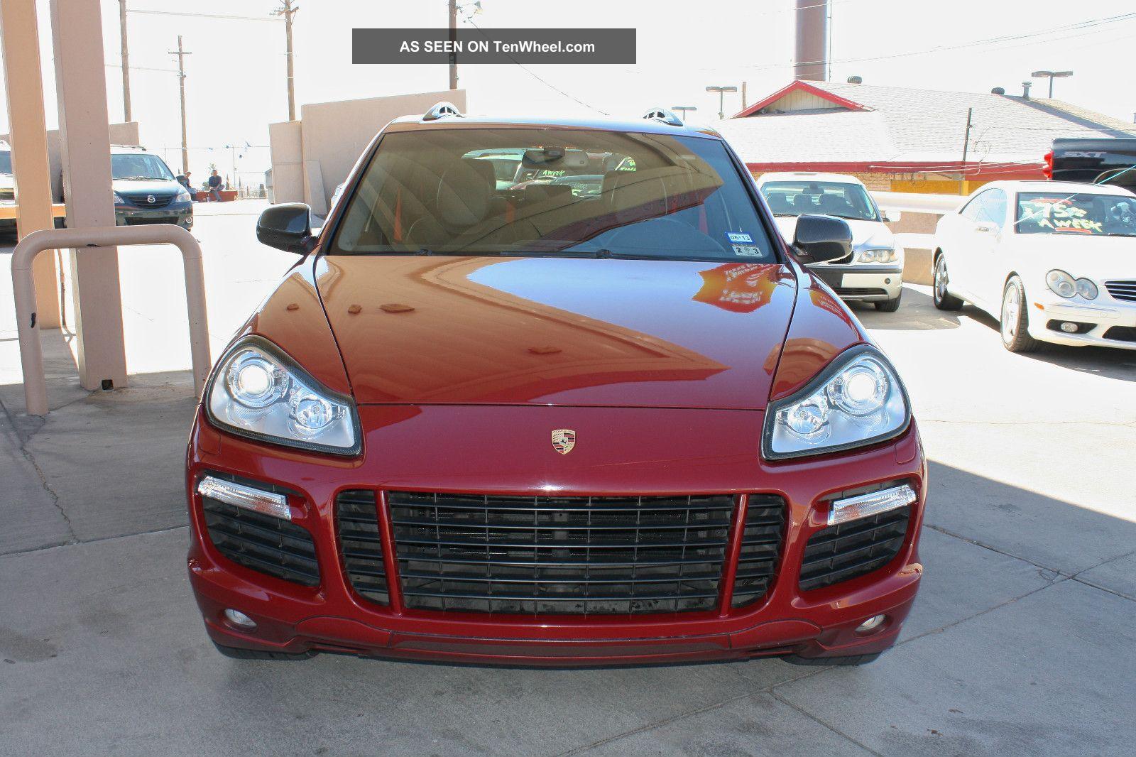 2008 Porsche Cayenne Gts Sport Utility 4 Door 4 8l
