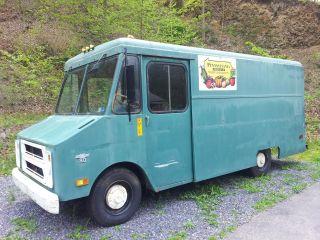 1971 Chevrolet Box Truck,  Cargo Van,  Food / Contractor / Produce photo