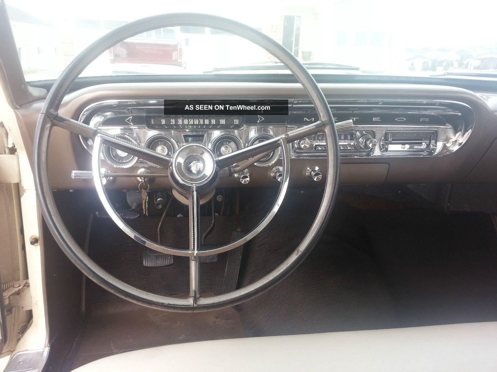 1963 Mercury Meteor Wagon - Ford Fairlane Wagon, Galaxie
