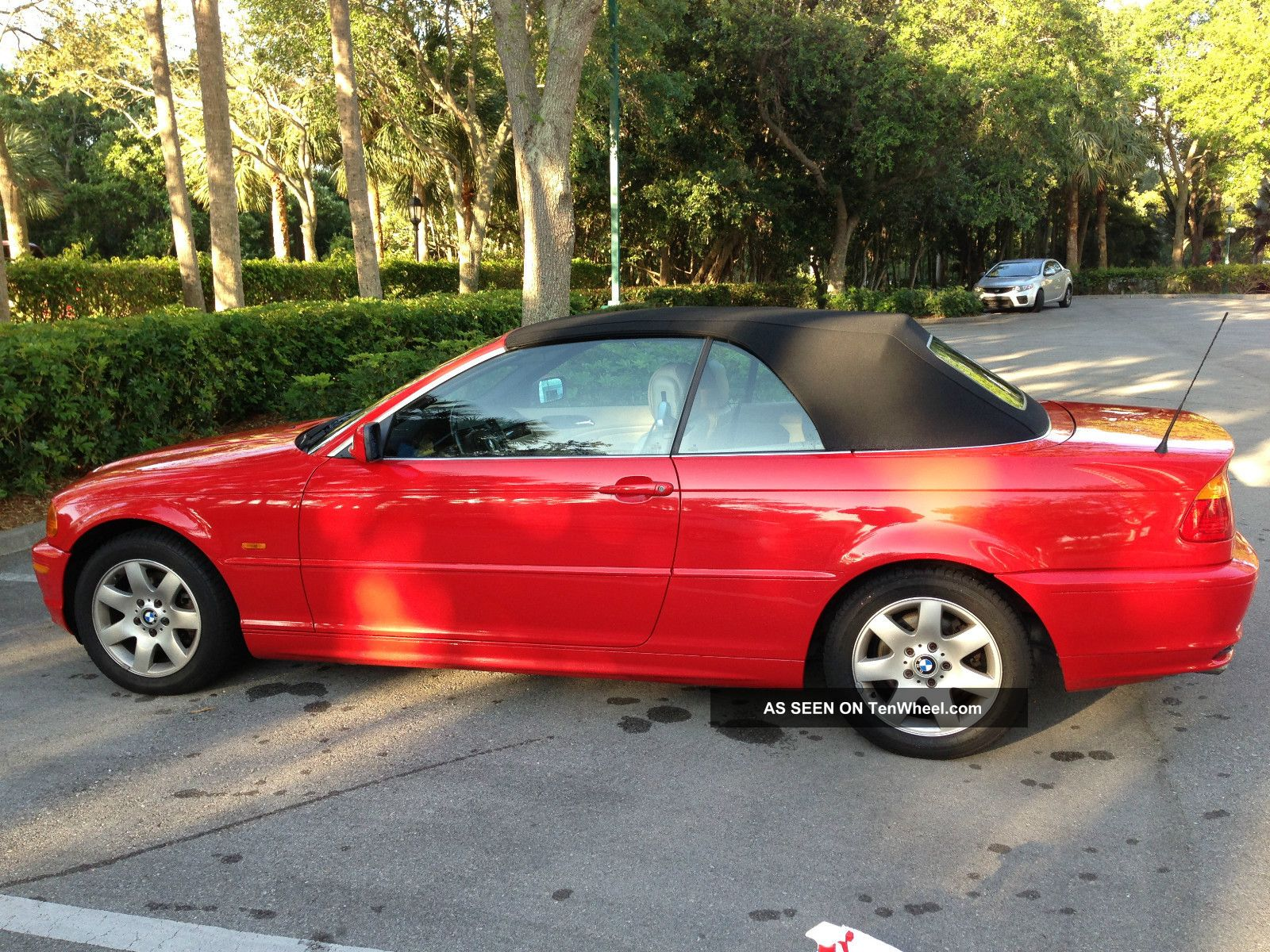 Bmw Ci Convertible One Owner Red Lgw
