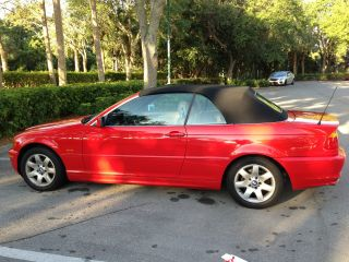 2000 Bmw 323ci Convertible One - Owner Red photo