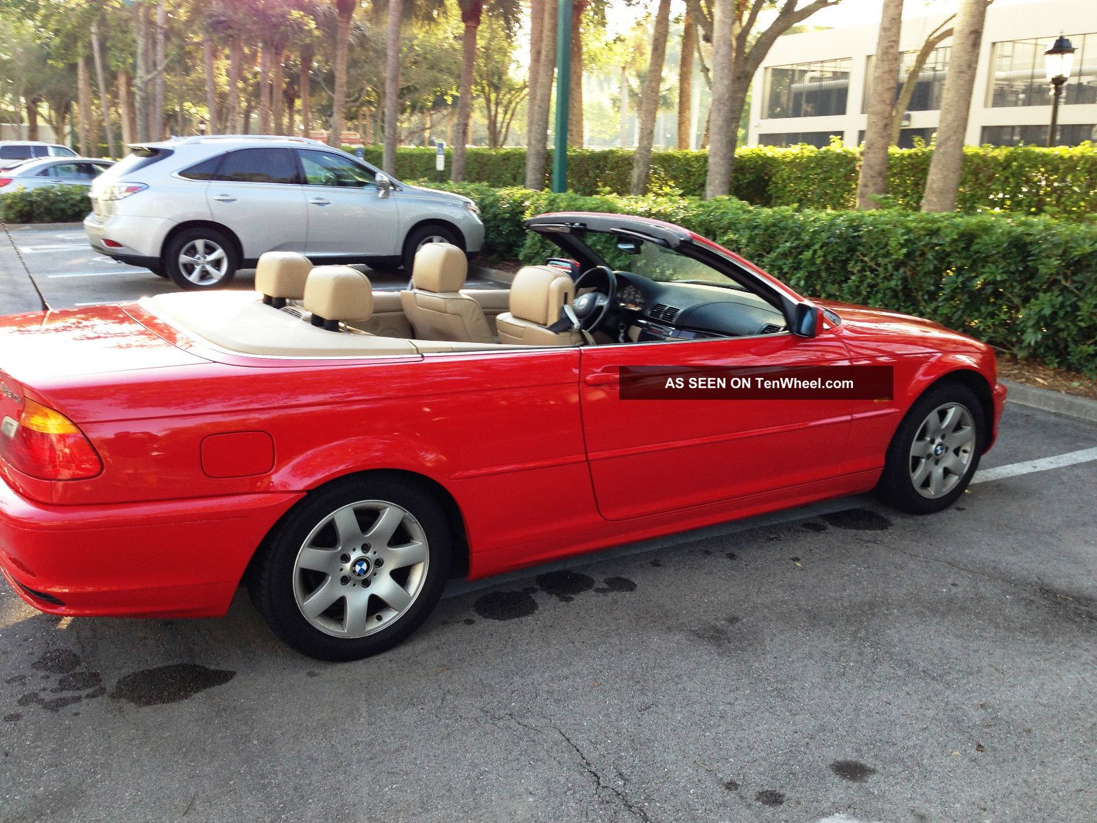 2000 bmw 323ci convertible one owner red. Black Bedroom Furniture Sets. Home Design Ideas