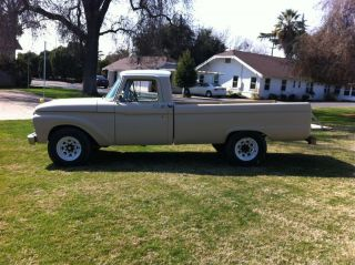 1965 Ford F100 / F250 Long Bed Truck Rat Rod Slick Sixty A Real Sleeper photo