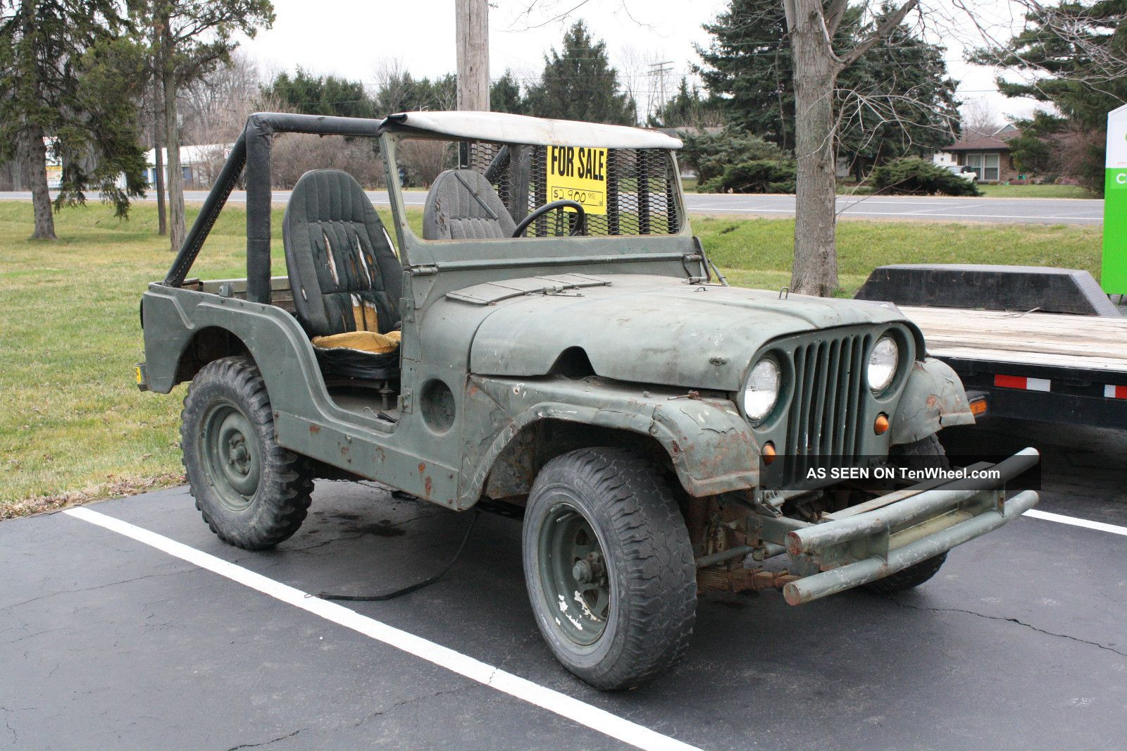 1953 Willys Military Jeep Wiring Diagrams 1941 To 1952 1959 Truck