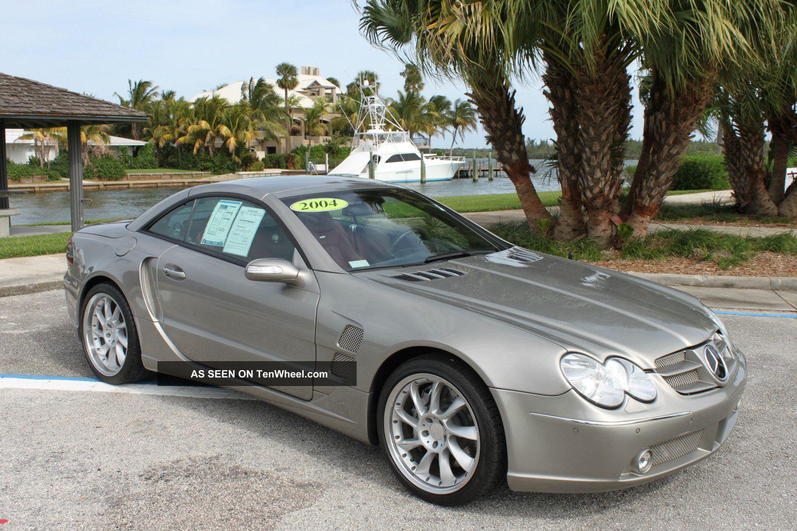 2004 mercedes benz sl55 amg lorinser for Mercedes benz sl55 amg specs