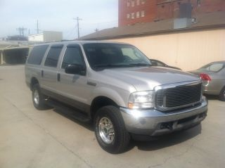 2003 Silver Ford Excursion Xlt,  4x4,  Gasoline V - 8 photo