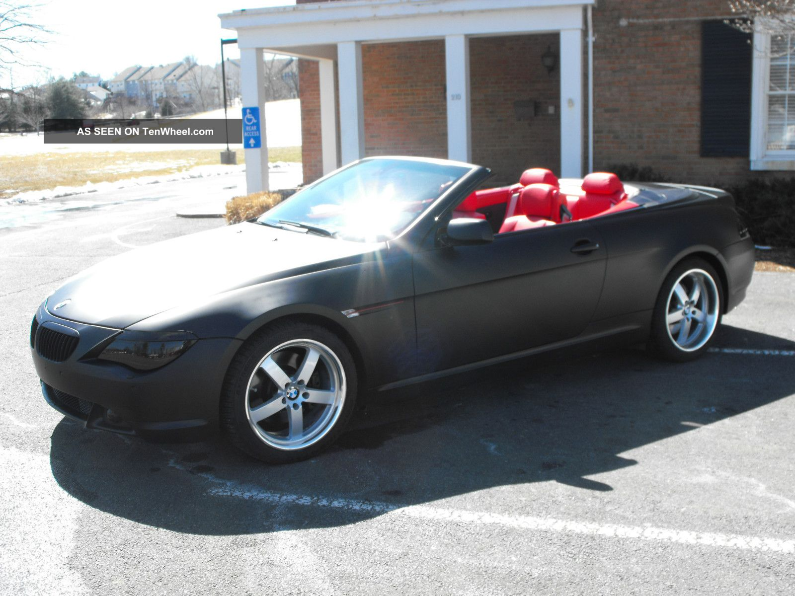 2006 Bmw 650i Convertible Sport Pkg Premium Winter