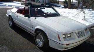 1984 Mustang Anniversary Convertible Gt350 5.  0 5spd photo