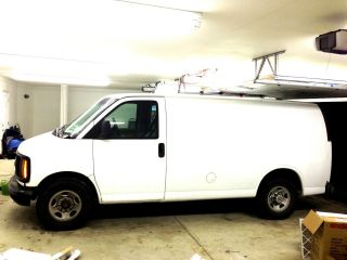 Truck Mount System Carpet Cleaning Van 1998 Chevrolet 3500 Express photo