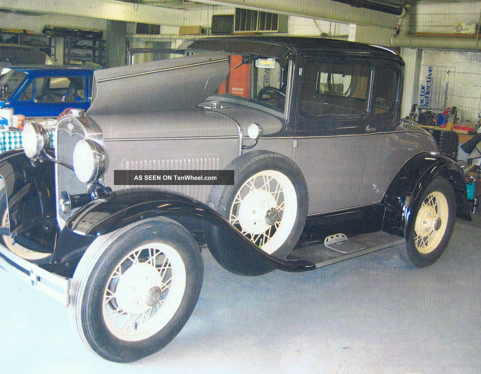 1931 Ford Model A Deluxe Coupe With Rumble Seat Model A photo