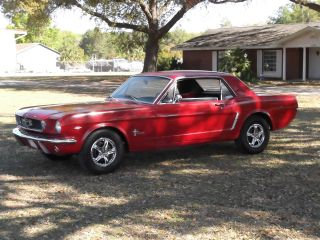 1965 Ford Mustang Coupe 289 Barn Find Lqqk photo
