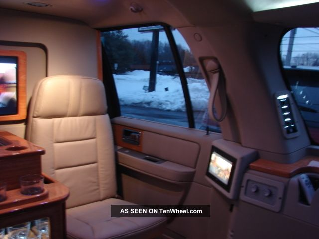 2009 Lincoln Navigator L Ceo Executive Mobile Office Suv