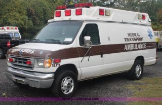 1997 Ford E - 350 Econoline Xl Extended Cargo Van 2 - Door 7.  3l Ambulance photo