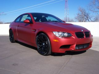 2013 Bmw M3 Coupe Special Edition Frozen Red photo