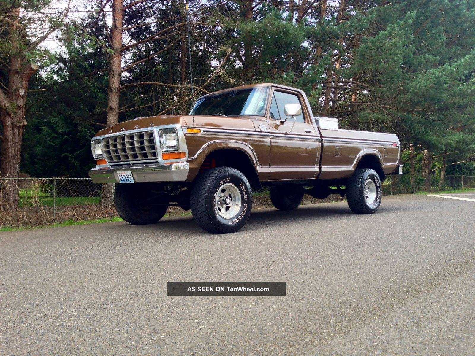 1979 Ford F150 4x4 Longbed Ranger Lariat Xlt Factory Ac 1978 1977 1976 1975 F-150 photo