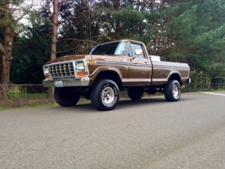 1979 Ford F150 4x4 Longbed Ranger Lariat Xlt Factory Ac 1978 1977 1976 1975 photo