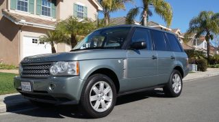 2006 Land Rover Range Rover Hse Sport Utility 4 - Door 4.  4l photo