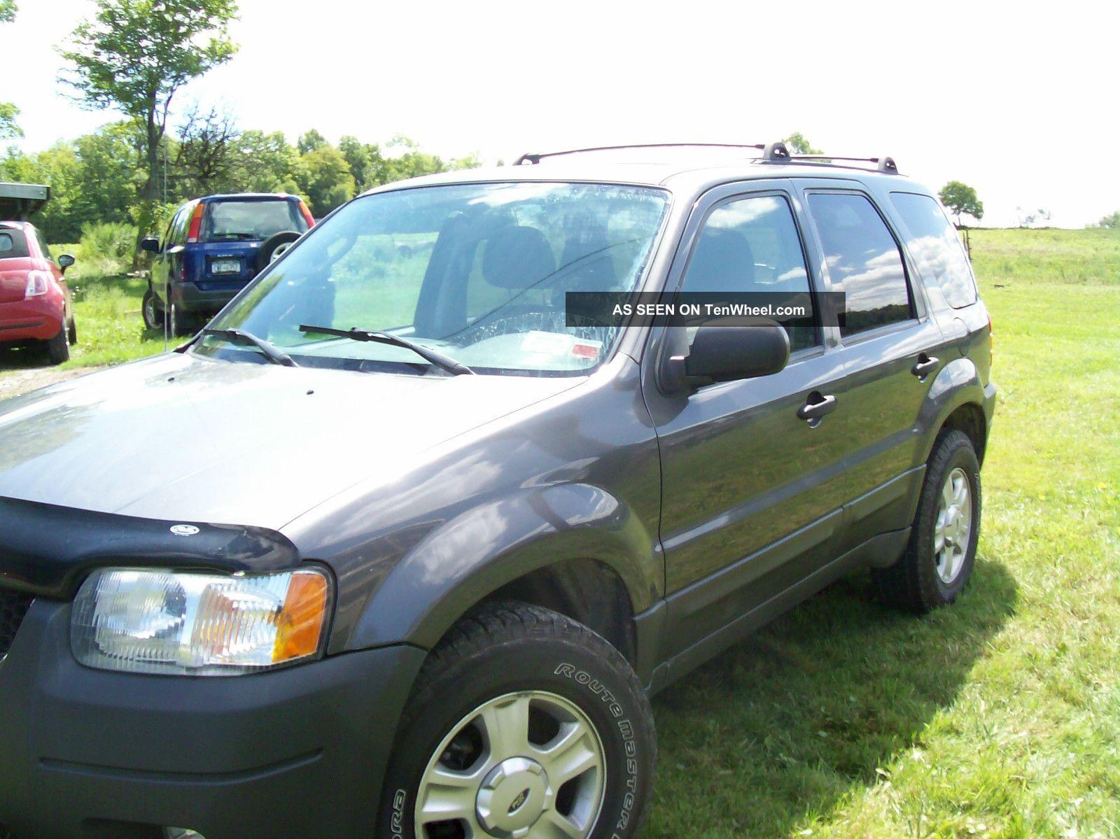 2004 Ford Escape Xlt Sport Utility 4 - Door 3.  0l Escape photo