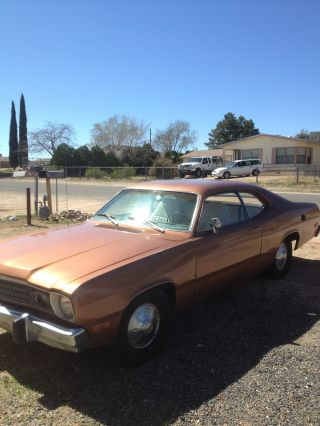 1974 Plymouth Duster Base Coupe 2 - Door 5.  2l photo