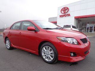 2010 Corolla ' S ' Automatic Barcelona Red Paint 1 - Owner Toyota Video photo