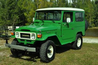 Immaculate 1983 Toyota Fj 40 Land Cruiser Collector Car photo