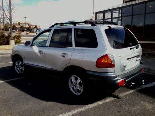 2004 Hyundai Santa Fe Gls Sport Utility 4 - Door 2.  7l photo