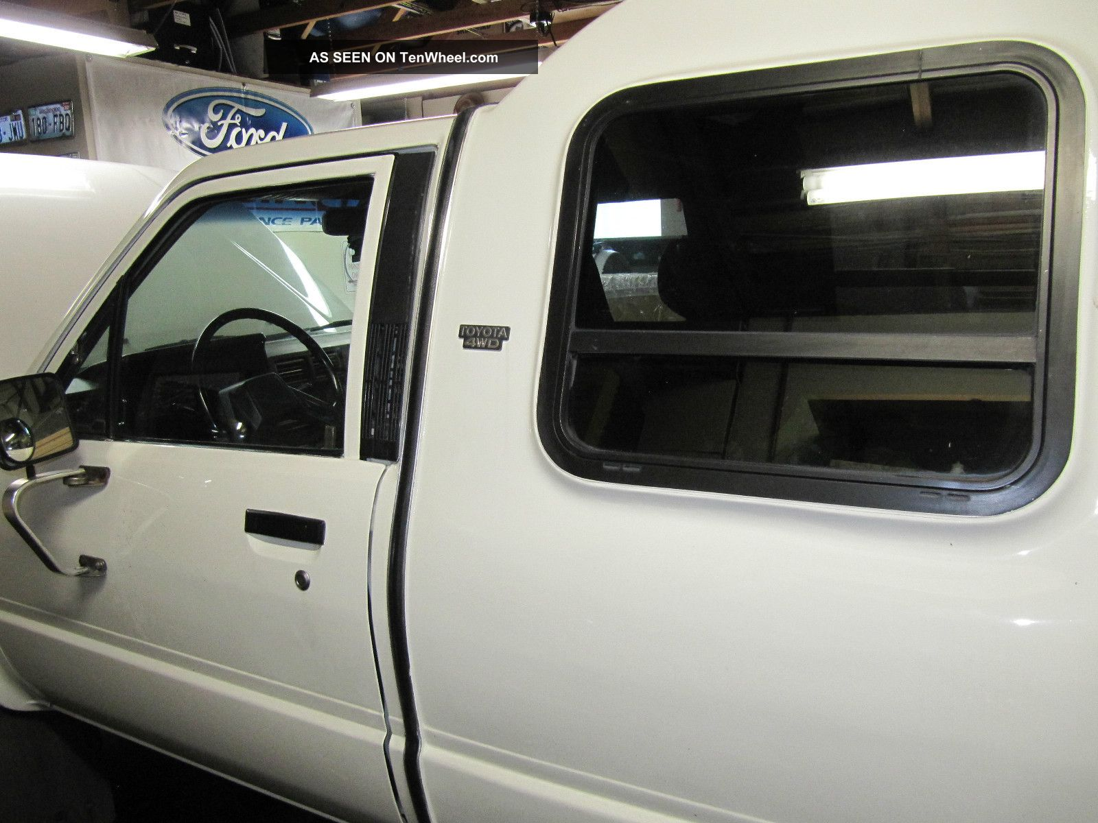 1986 Toyota Custom Cab Pickup Engine Paint Tires Exc.  Cond. Tacoma photo