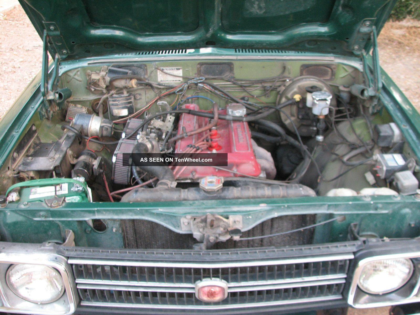 1974 Toyota Corona Unique Oem / High Performance 18rg Engine